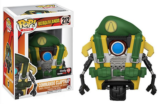 POP Borderlands Commando Claptrap