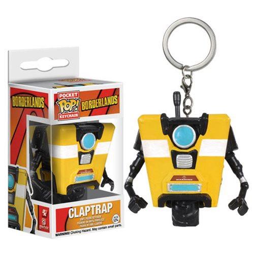 POP Keychain Borderlands - Claptrap