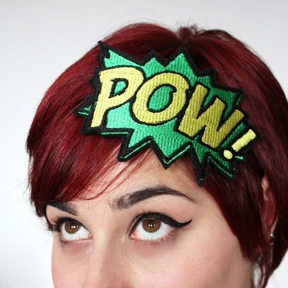 POW! Cartoon Headband