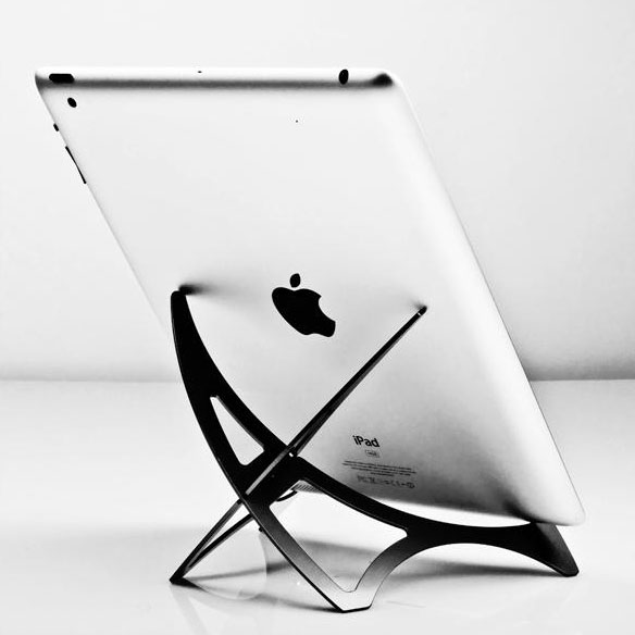 PRIZM 2-Piece Aluminum Stand for Tablets