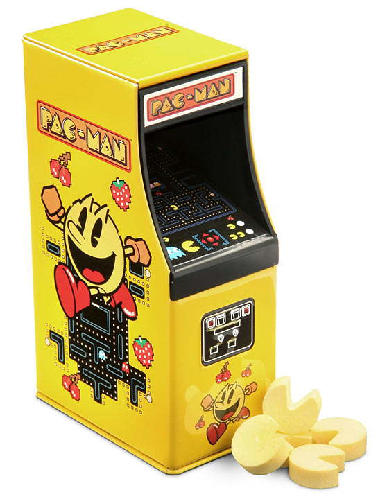 Pac-Man Arcade Cabinet Candy
