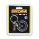 Pac-Man Bottle Opener Key Chain