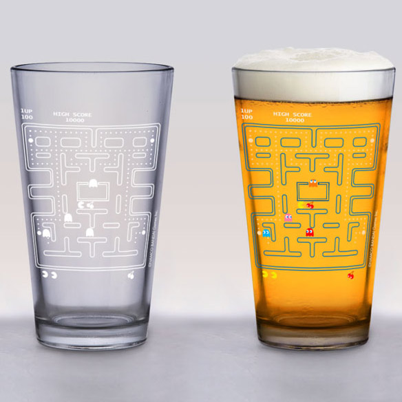 Pac-Man Cold Change Glass