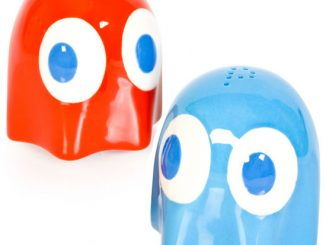 Pac-Man Ghost Salt and Pepper Shakers