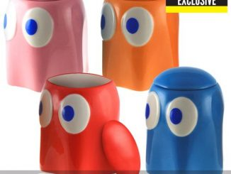 Pac-Man Ghosts Lidded Ceramic Container 4-Pack