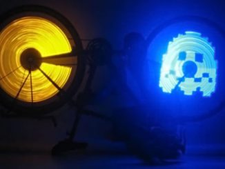 Pac-Man LED Bicycle Lights