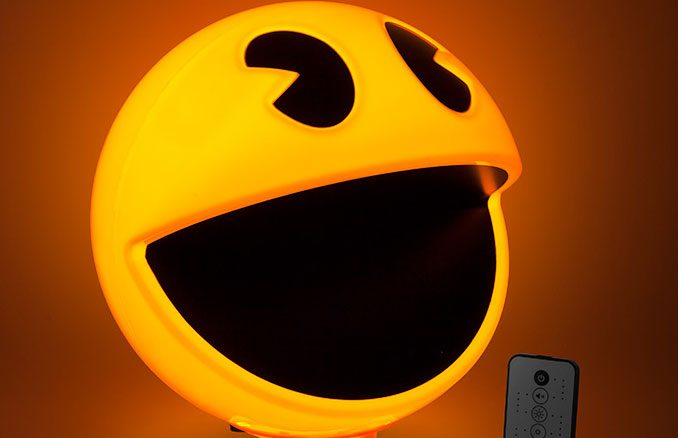 Pac-Man Lamp with Arcade Sound Effects