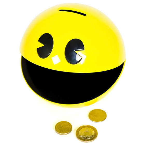 Pac-Man Moneybox