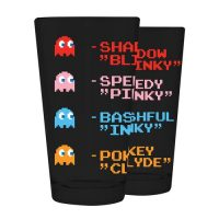 Pac-Man Names 16 oz. Pint Glass