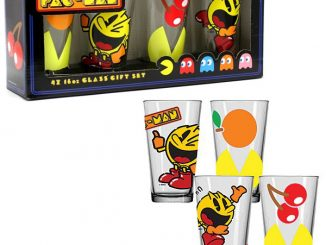 Pac-Man Pint Glasses Set