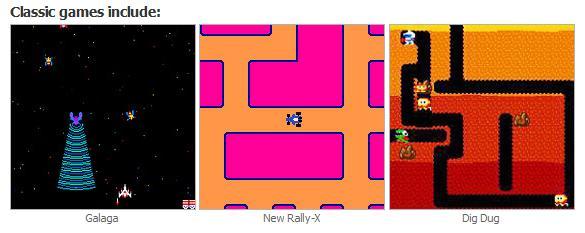 Pac-Man Plug 'n' Play Console