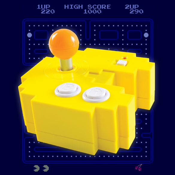 Tv Games Plug Into : Pac man plug n play console