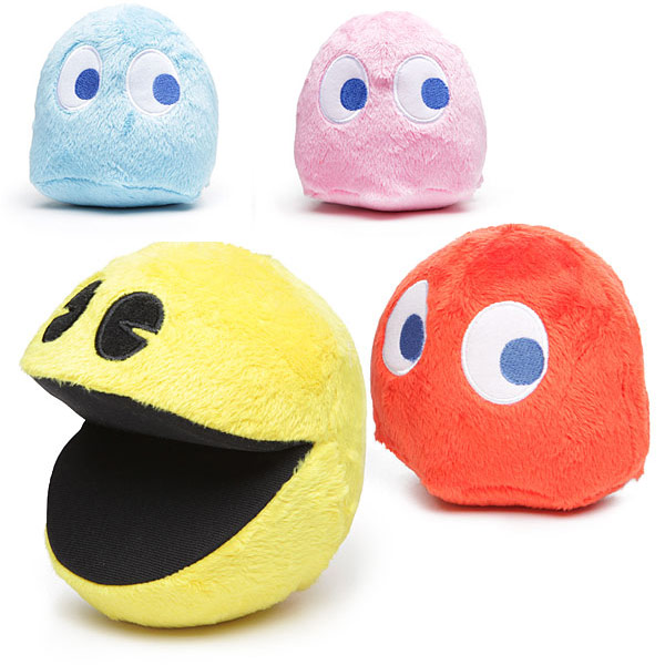 Pac Man Plush with Sound