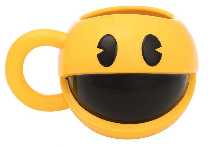 Pac Man Sculpted Mug