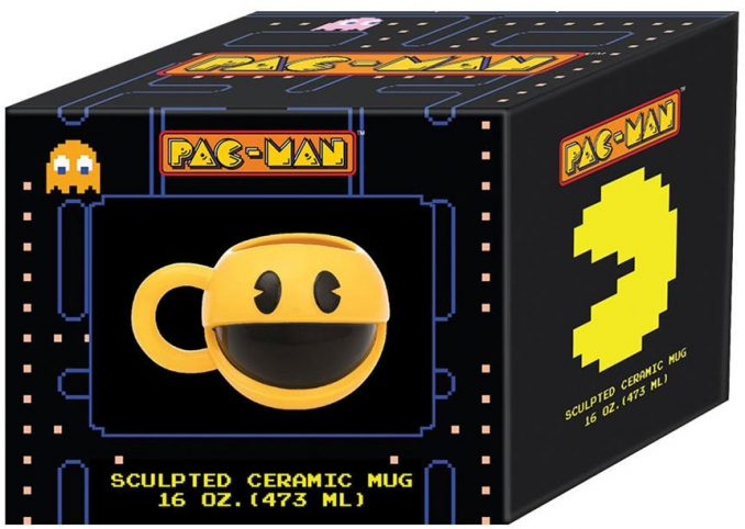 Pac-Man Sculpted Mug