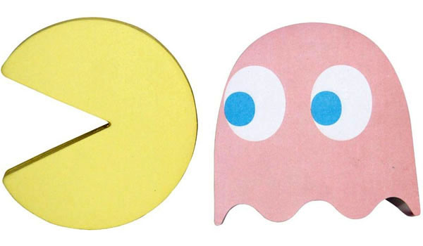 Pac-Man Sticky Note