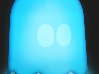 Pac-man Styled Ghost Lamp