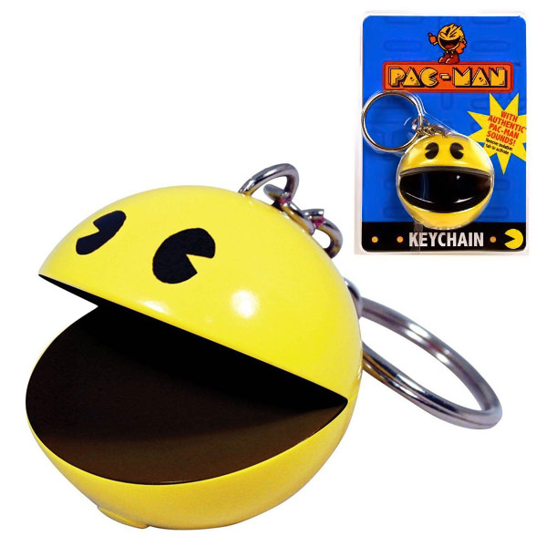 PacMan Key Chain with Sound