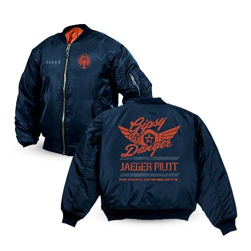 Pacific Rim Gipsy Danger Bomber Jacket