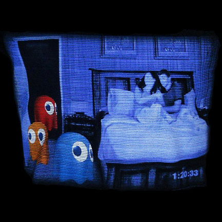 Pac-man Paranormal Ghost T-Shirt
