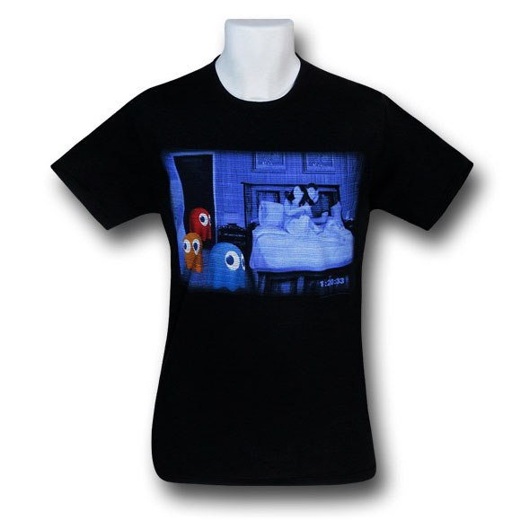 Pacman Paranormal Ghosts T-Shirt