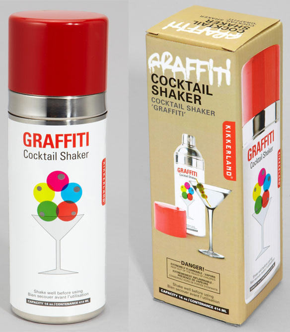 Paint Can Cocktail Shaker