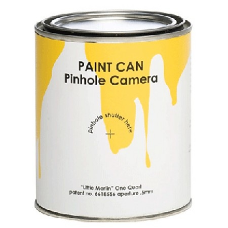 Paint Can Pinhole Camera