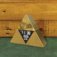 Paladone Legend of Zelda TriForce Alarm Clock