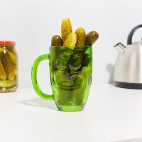 Paladone Rick and Morty Pickle Rick Stein Glass