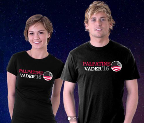 Palpatine Vader 2016 T-Shirt