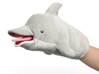 Pam's Dolphin Puppet Plush