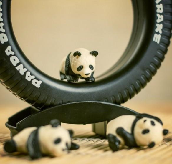 Panda Pile-Up