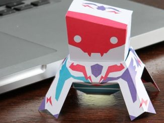 Papertronics DIY Lunar Landers