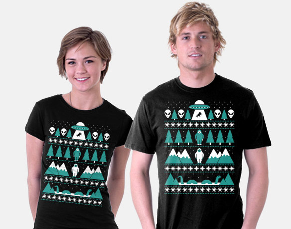 paranormal-christmas-t-shirt