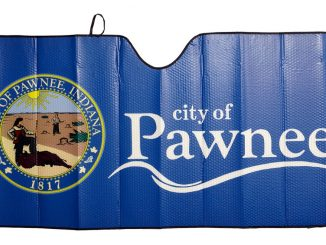Parks and Recreation Pawnee Car Sunshade