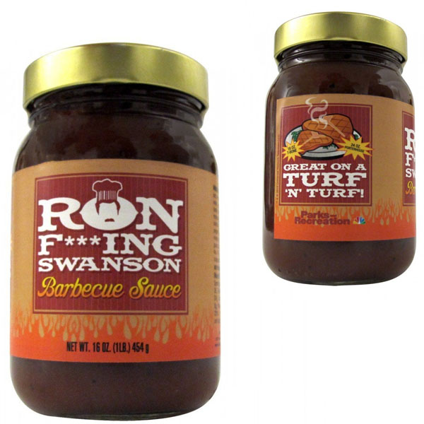 Parks and Recreation Ron Swanson BBQ Sauce