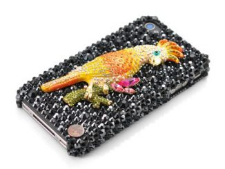 Parrot Swarovski Crystal iPhone Case