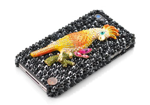 Parrot Swarovski Crystal iPhone Case