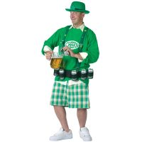 Party Drinking Leprechaun Adult Costume