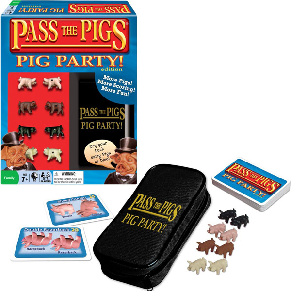 Pass the Pigs Pig Party! Edition Game