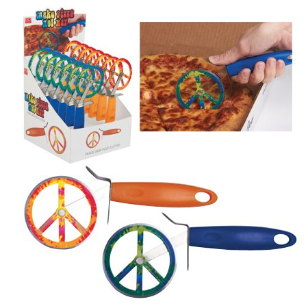 Peace Sign Pizza Cutter