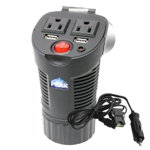 Peak PKC0BM 150 Watt Cup Can Power Inverter