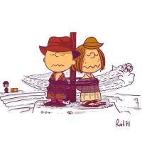 Peanuts Indiana Jones Art Print Set