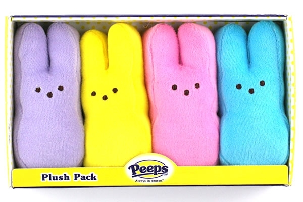 Peeps Bunnies Plush Pack
