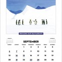 Penguins Hate Stuff 2015 Wall Calendar