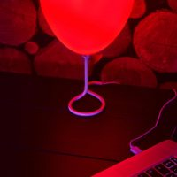 Pennywise Red Balloon Lamp