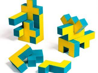 Pentaminoes 3D Puzzle Cubes