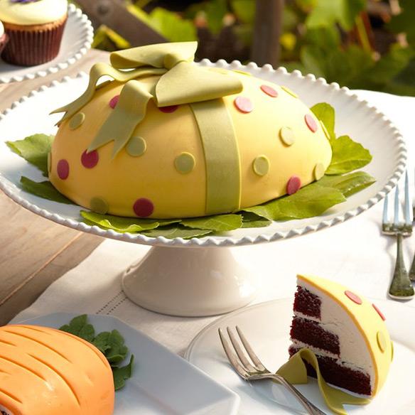 Perfect Endings Easter Egg Cake