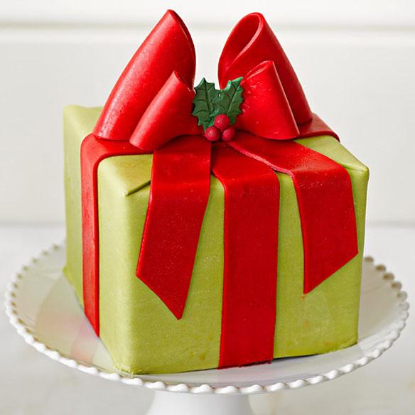 Perfect Endings Present Cake