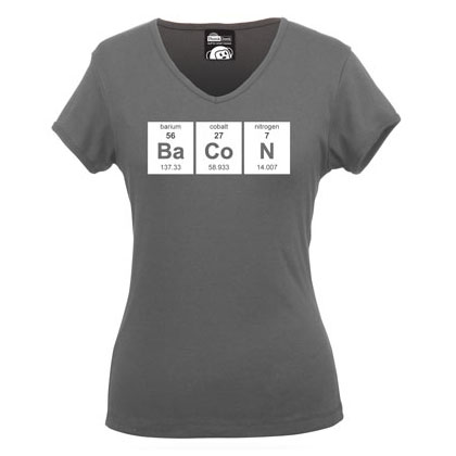 Periodic BaCoN V-Neck Babydoll